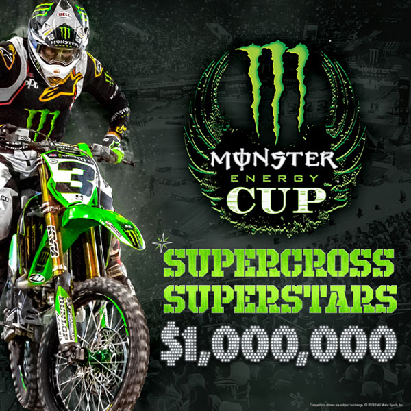 Calendrier Ama Supercross 2019.Unlvtickets 2019 Monster Energy Cup