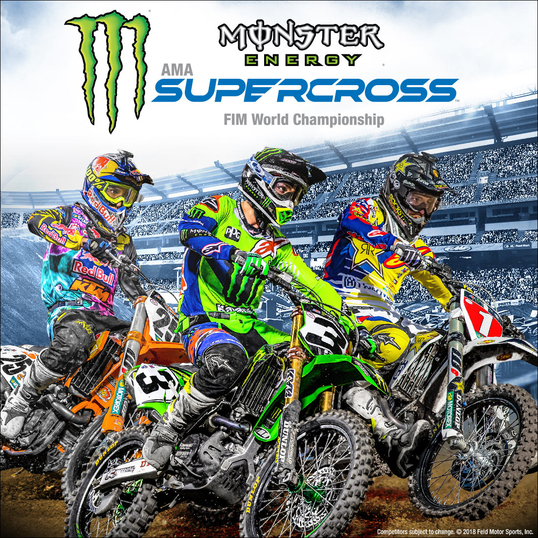 Calendrier Ama Supercross 2019.Unlvtickets 2019 Monster Energy Supercross