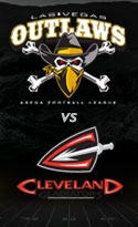 Las Vegas Outlaws vs. Cleveland Gladiators