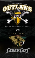 Las Vegas Outlaws vs. San Jose Sabercats