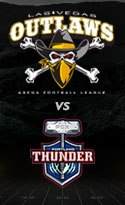Las Vegas Outlaws vs. Portland Thunder